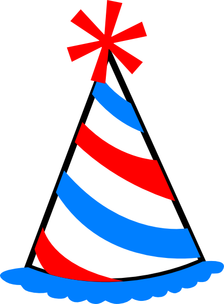 clipart royalty free Party Hat Clip Art at Clker