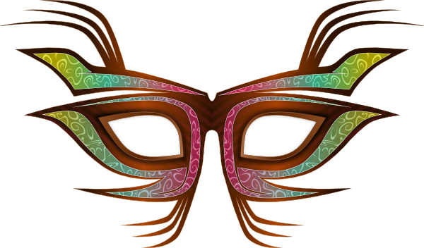 clipart free library Party Mask Clip Art at Clker