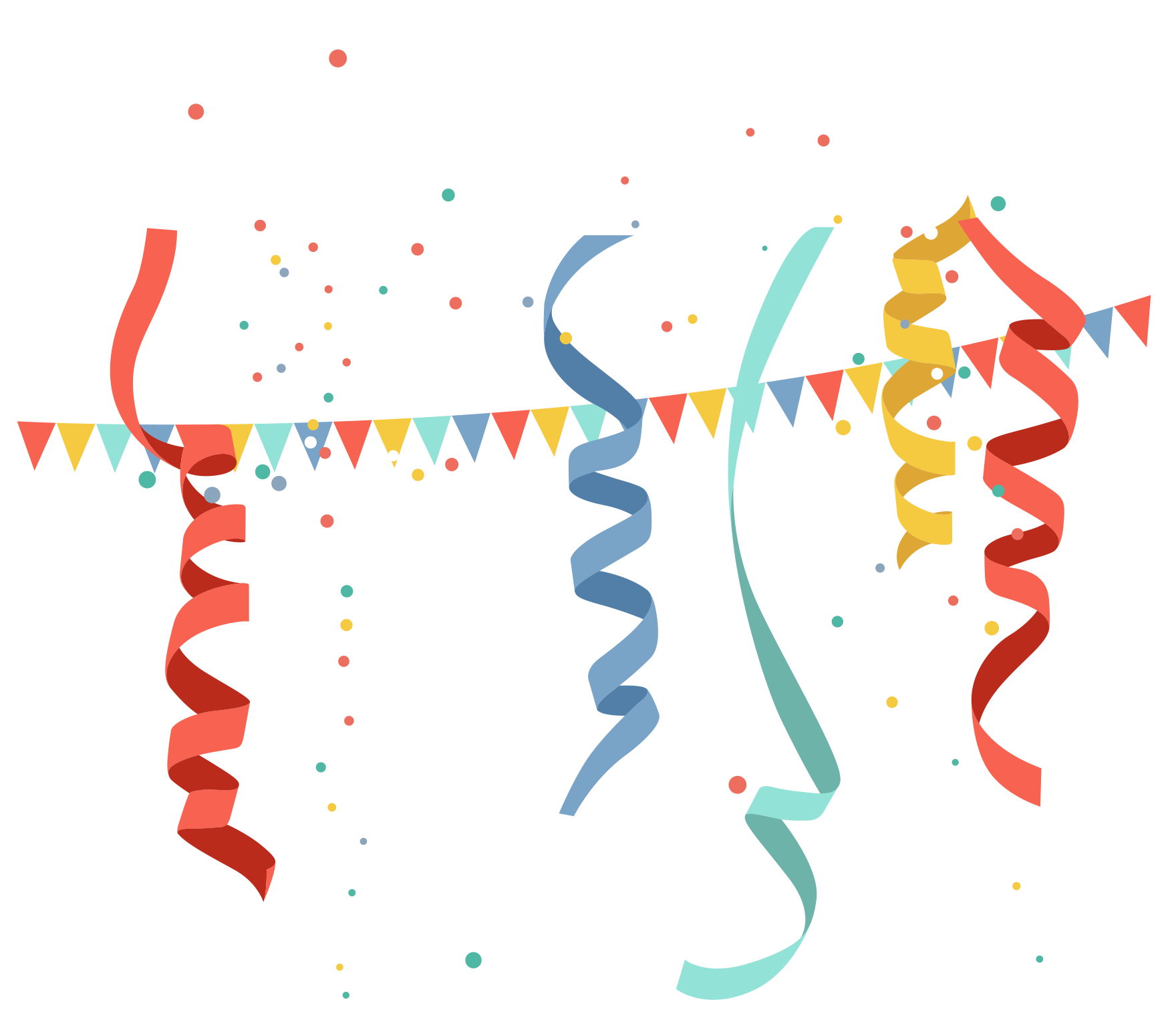 banner black and white library Party transparent celebration. Birthday clip art celebrate