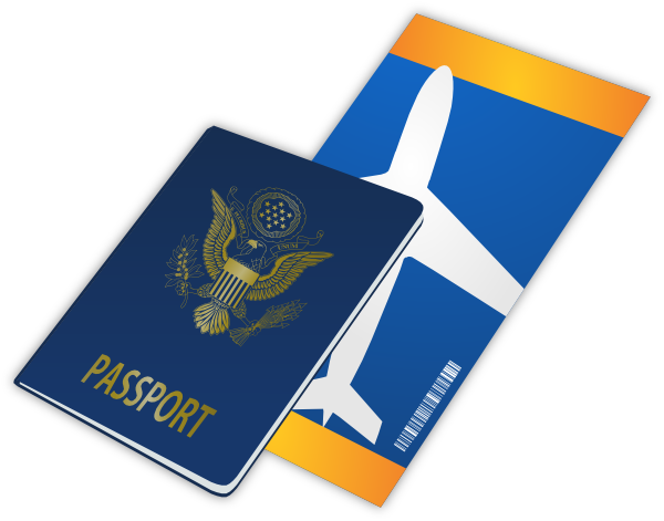image royalty free library Traveling clip art at. Passport clipart
