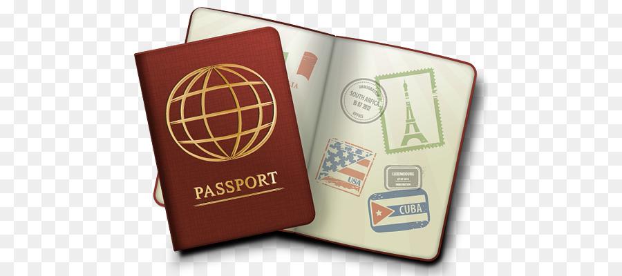 transparent stock Passport clipart. Clip art
