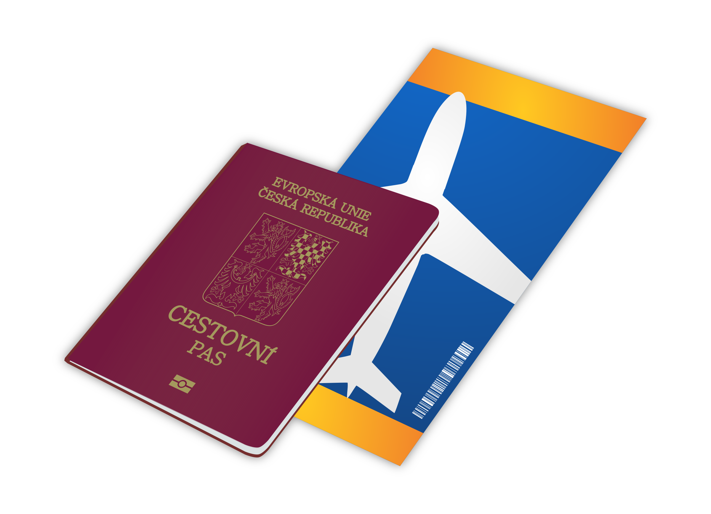 clip art royalty free library Passport clipart. Czech big image png.