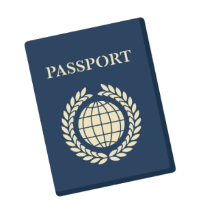 image royalty free Passport clipart clip art. Travel vacation miss kate