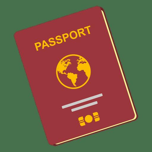 clipart transparent stock Passport travel icon