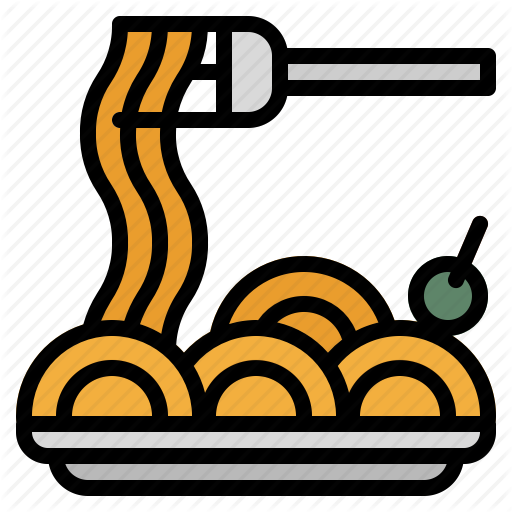 svg freeuse stock pasta clipart dish #81690330