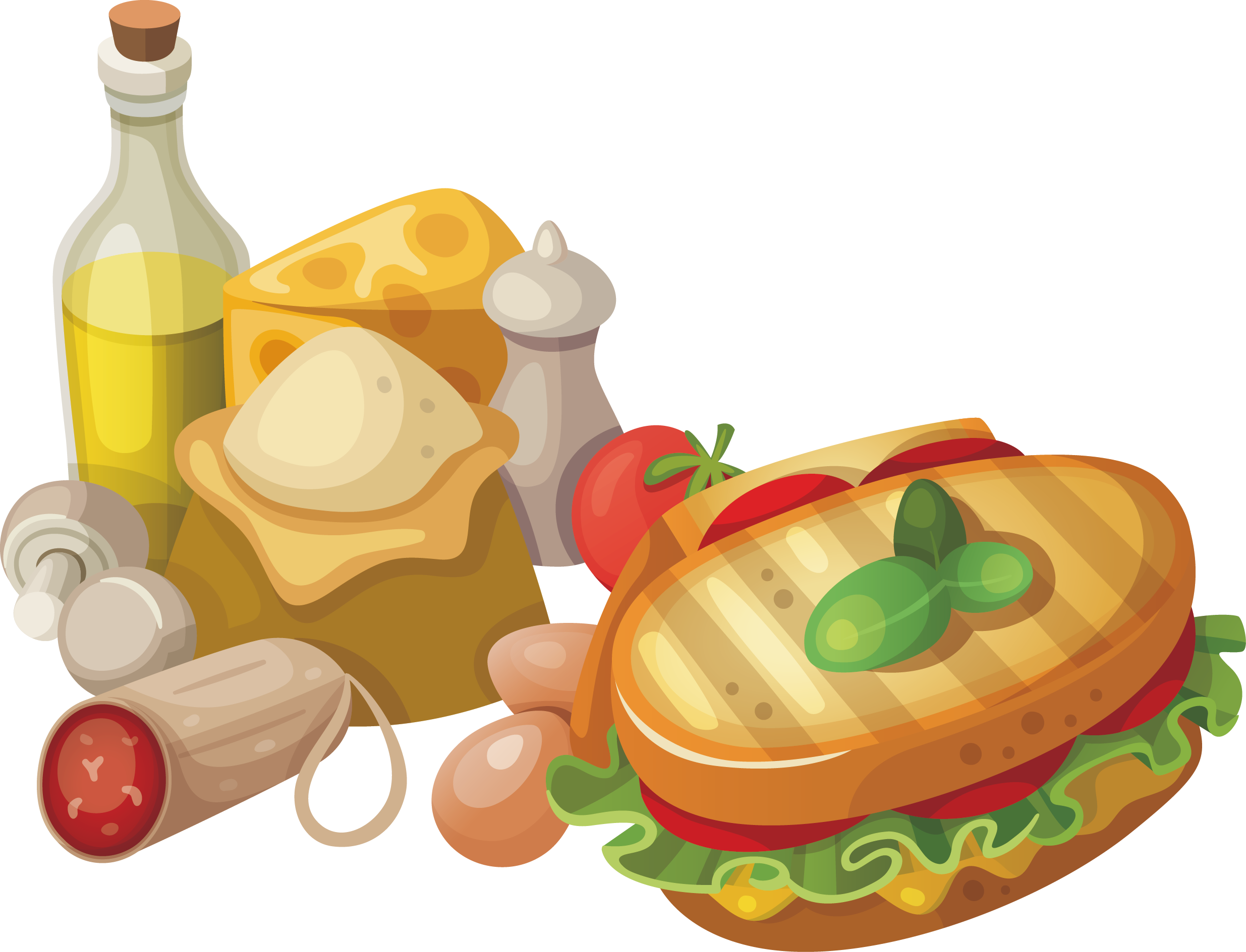 clip art free download Italian cuisine Pasta Pizza Breakfast Fast food