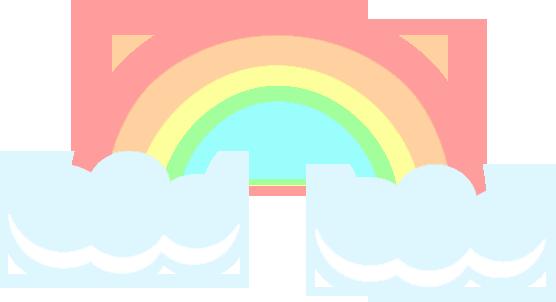 clip stock Pastel Rainbow