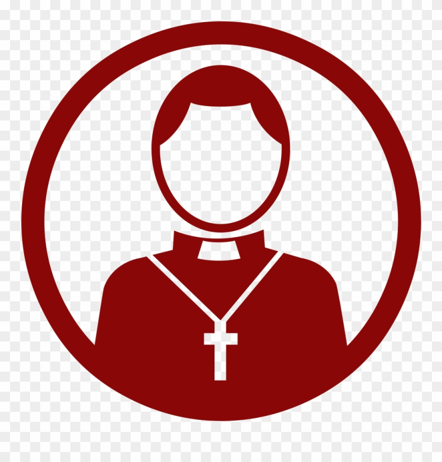 clip art library library Pastor clipart catholic priest. Circle png download