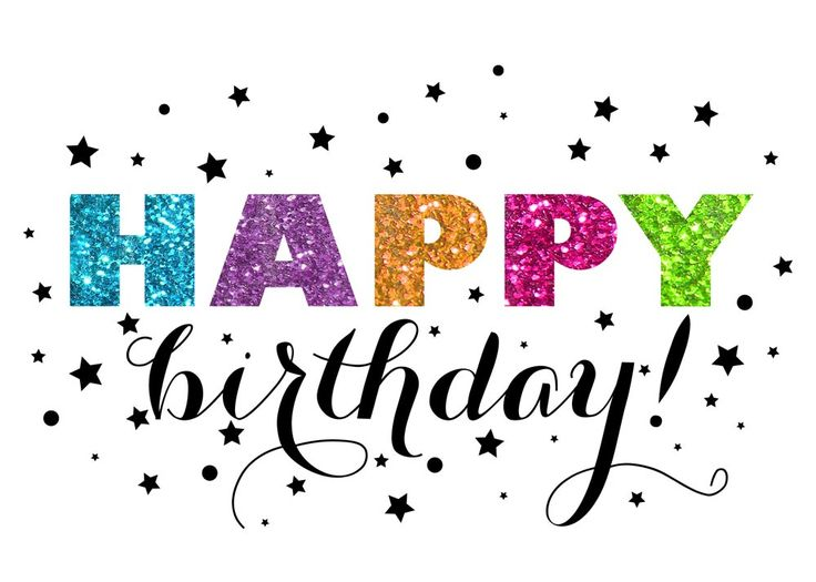 png royalty free download Clipart happy birthday. Pastor brady the new