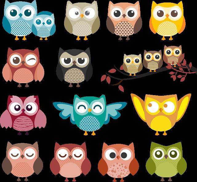 vector free library Clip art buhos con. Ugly clipart owl