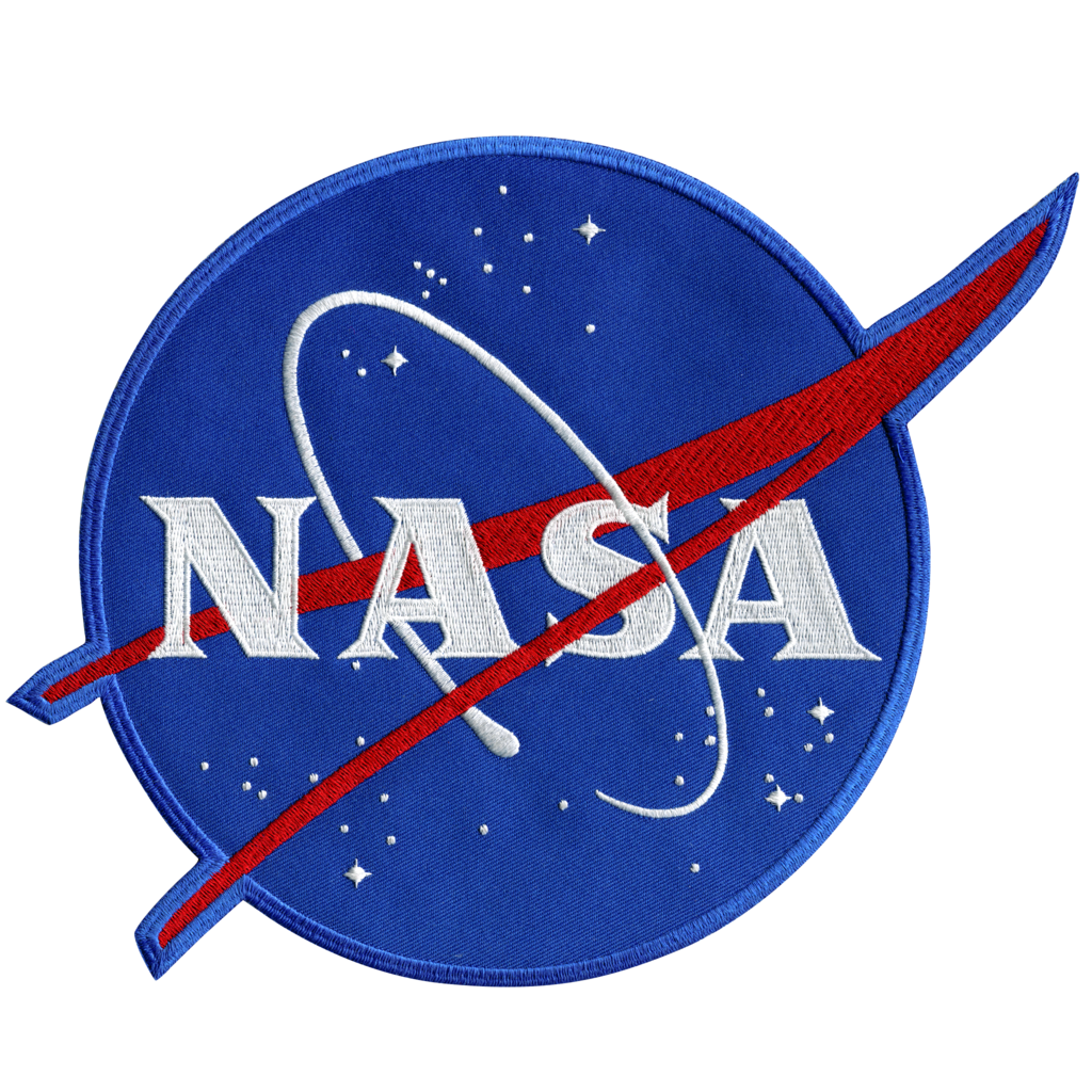 banner freeuse stock Nasa back space patches. Patch vector.