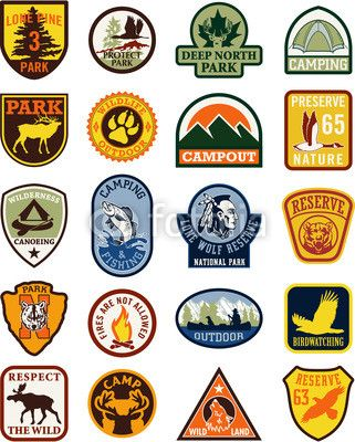 svg download Patch vector. Outdoor adventure patches logo.