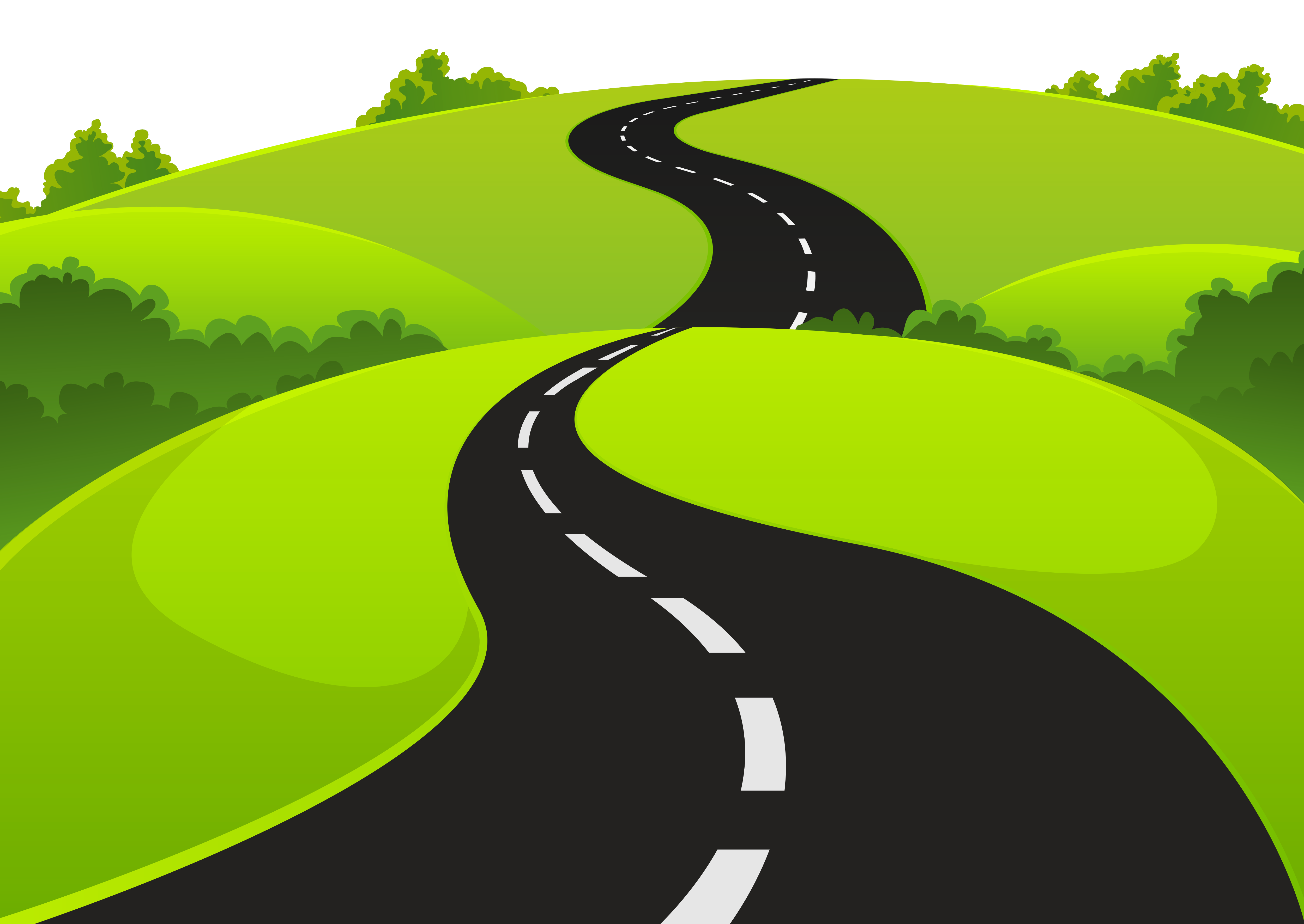 jpg transparent library Road milestone x free. Pathway clipart