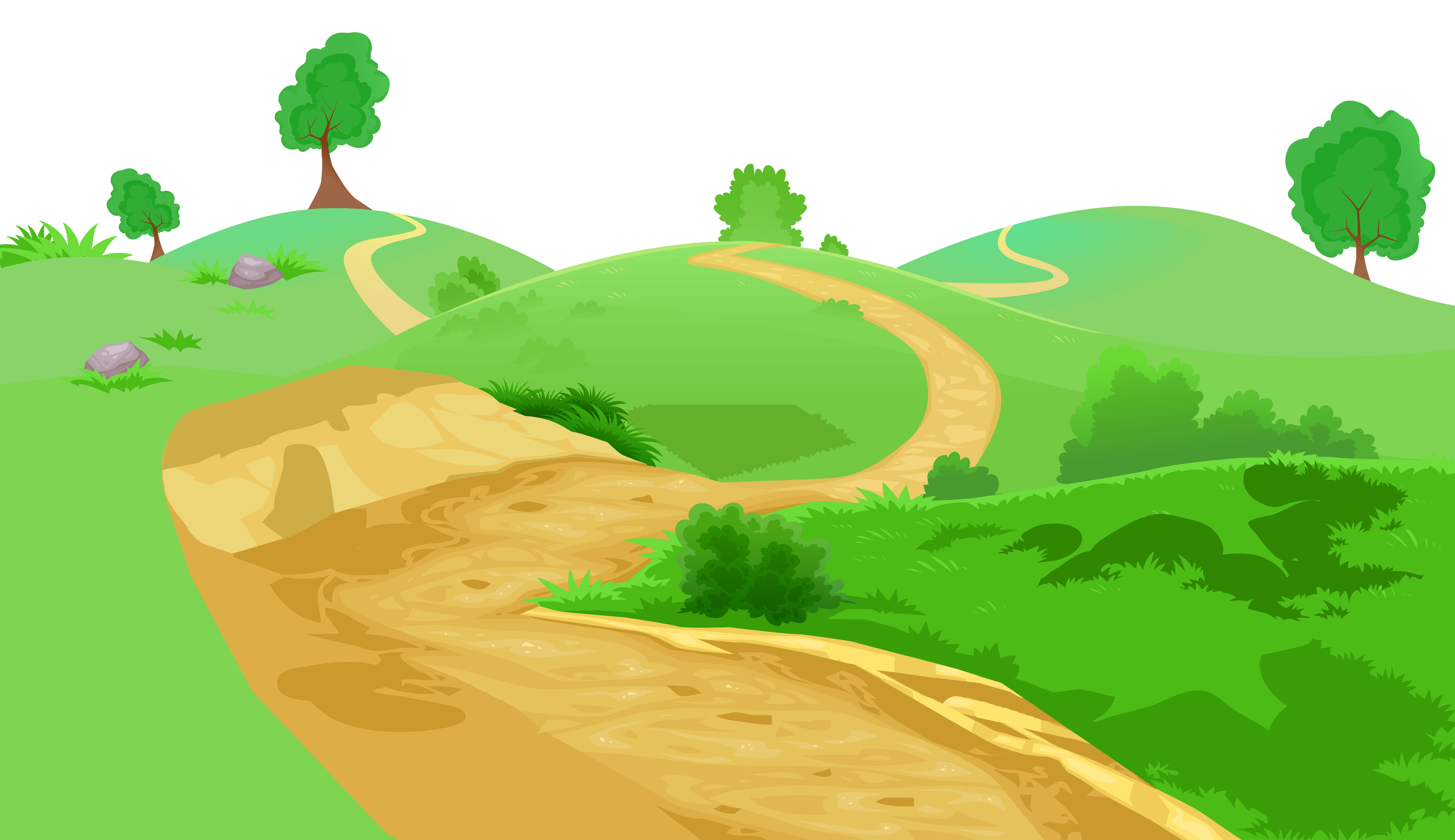 banner free stock Grass and transparent png. Pathway clipart