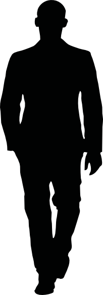 image free stock Patience clipart business. Man walking clip art