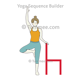 graphic transparent library Beginner Tree Pose Yoga