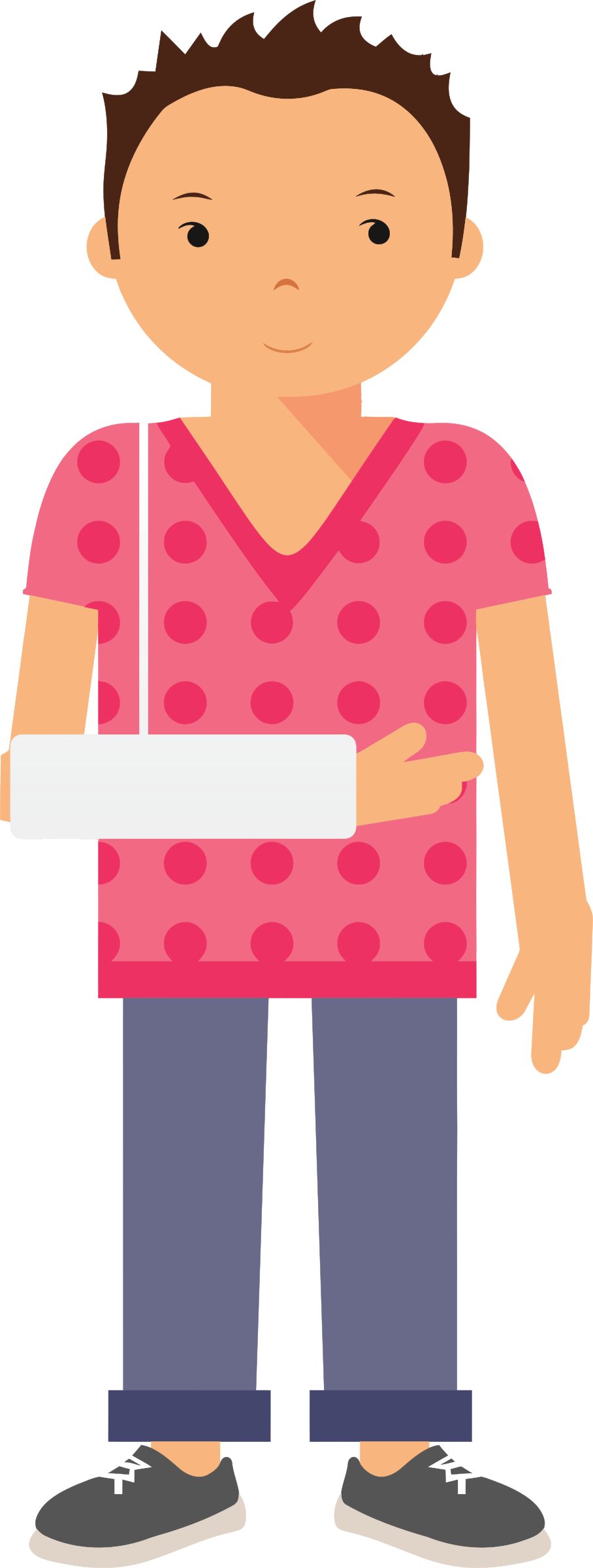 image transparent Broken arm clipart. Patient with no background