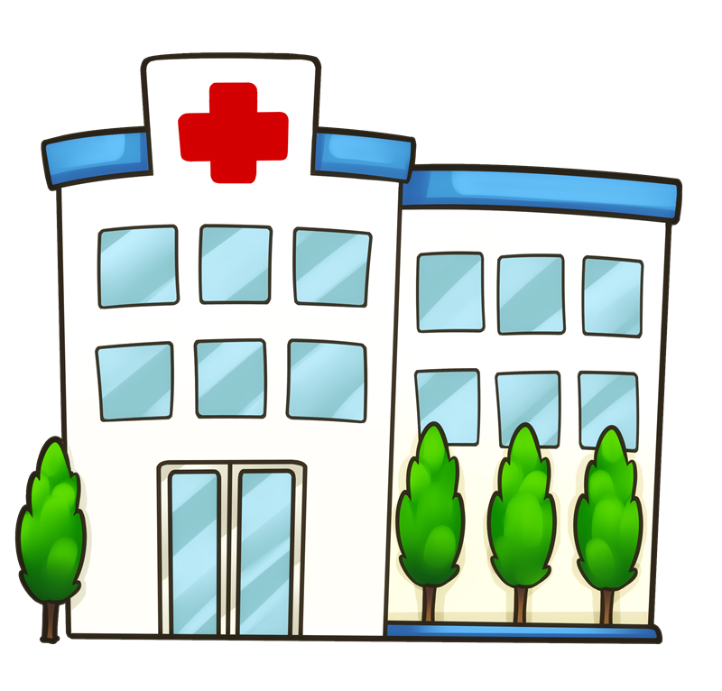 banner free download hospital illustrations
