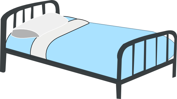 png library download Hospital Bed Clip Art at Clker