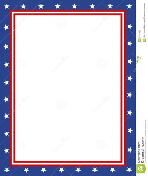 svg transparent download Patriotic clipart borders. Free page border sponsored