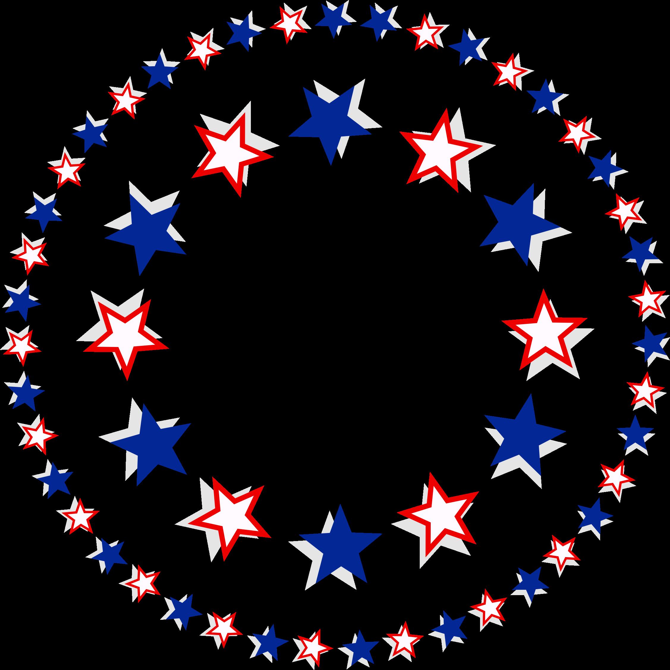 clip art transparent Patriotic clipart. Stars