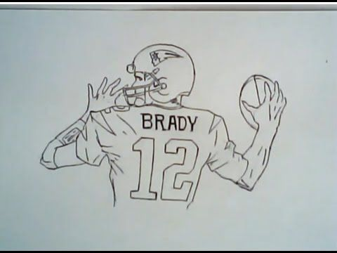 graphic free How to draw tom. Patriots drawing