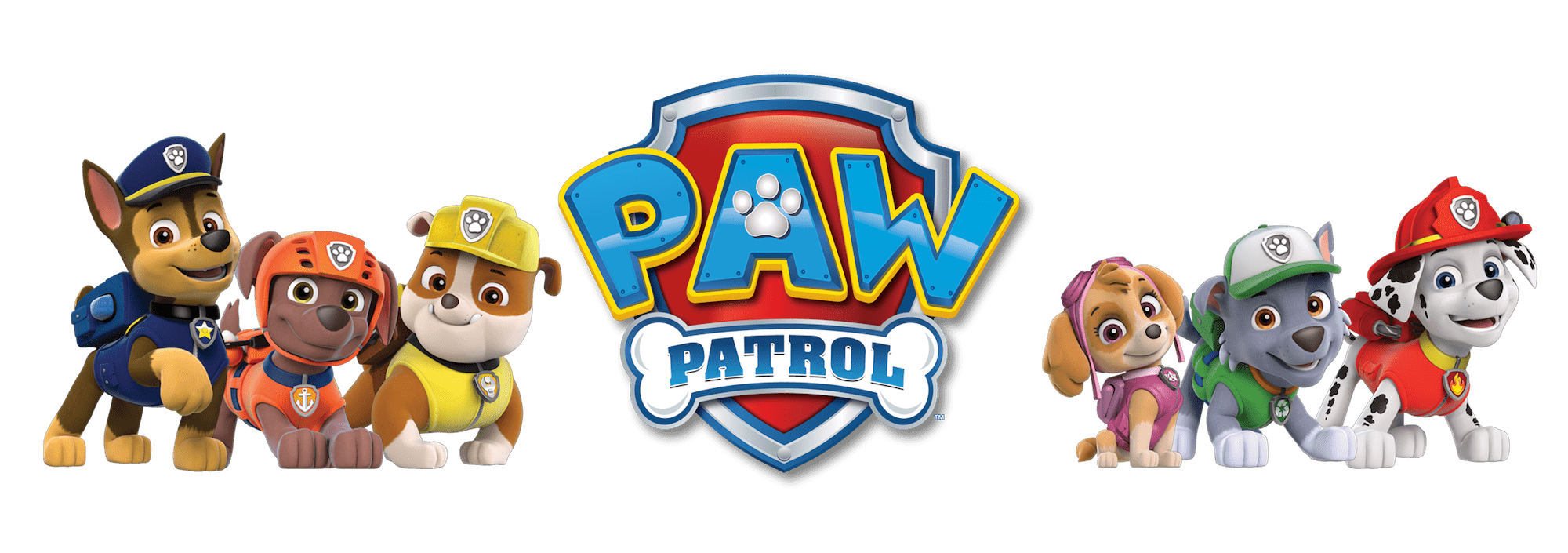 banner free stock Pawpatrol Logo Dogs Clipart Paw Patrol Clipart Png