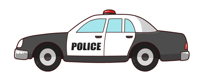 image transparent Car clipart police officer