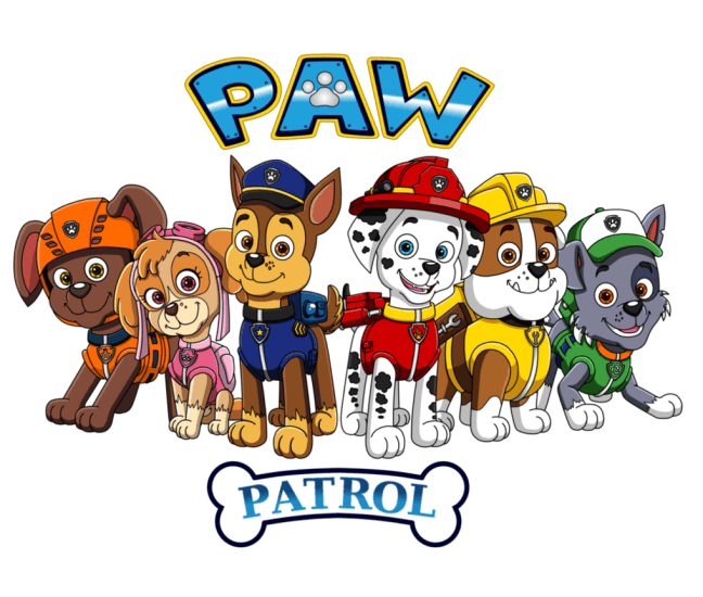 svg transparent stock There are many high quality Paw Patrol coloring pages for your kids