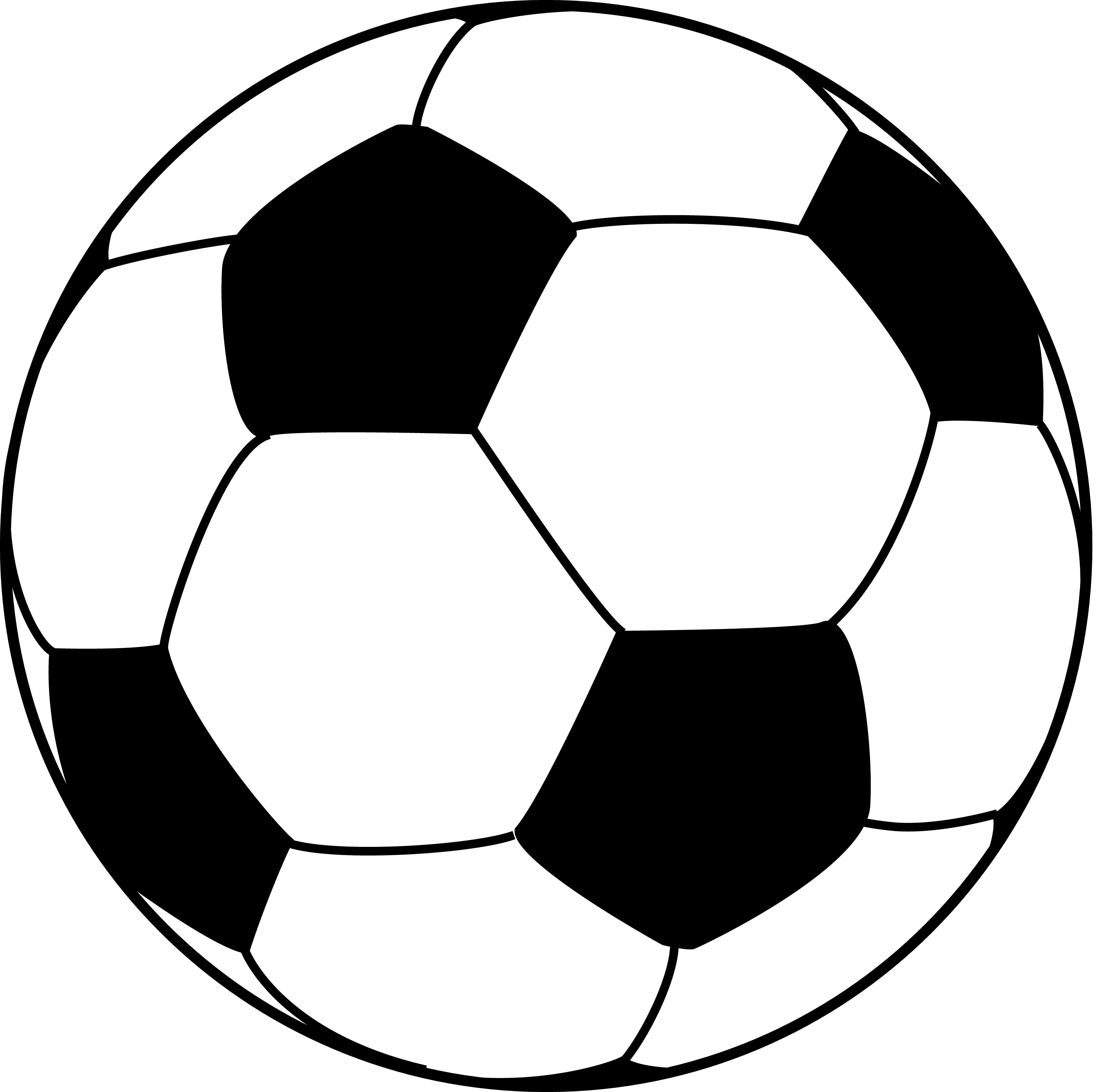 jpg transparent Soccer Ball Pattern Template Soccer Ball Pattern Vector