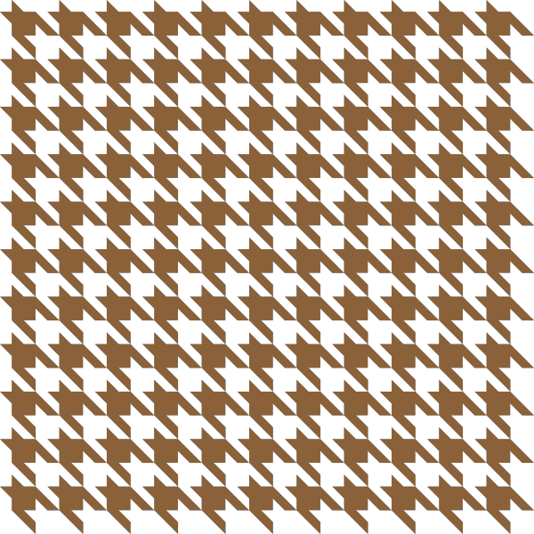clip art royalty free library Brown check data public. Houndstooth vector svg