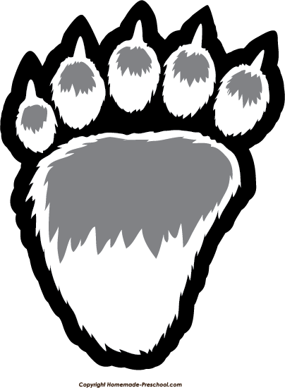 image free stock Bear paw clipart. The top best blogs