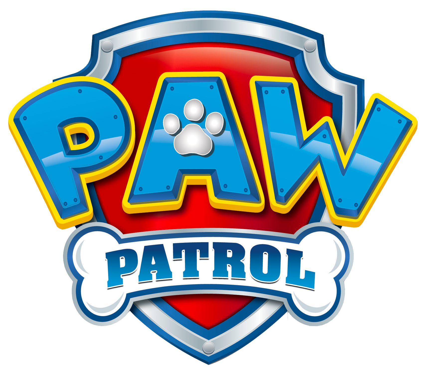 jpg transparent stock Bone transparent paw patrol. Logo png no background