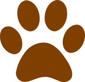 royalty free download Dog paw print clip. Pawprint clipart