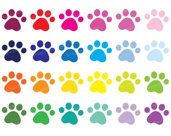 png black and white Pawprint clipart cute. Puppy paw print dog