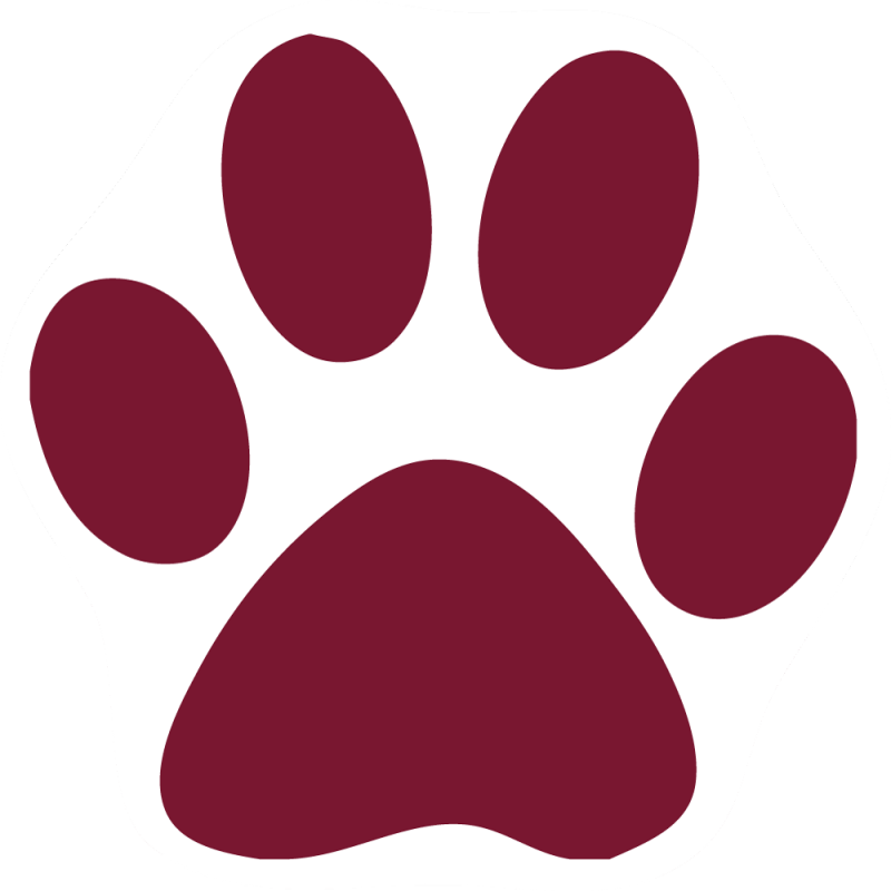 picture royalty free library Dog paw at getdrawings. Pawprint clipart cute
