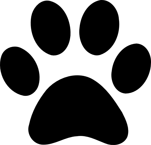 banner transparent library Large Paw Print transparent PNG