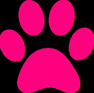 vector freeuse library Dog paw print clip. Pawprint clipart panda