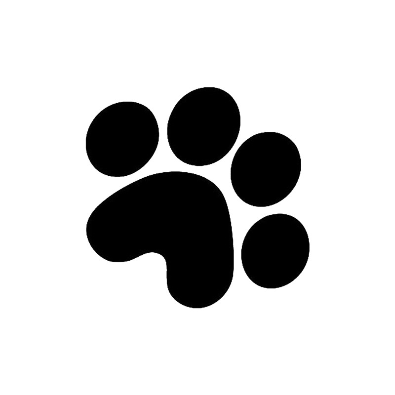 png royalty free stock Paws clipart car. Free dog paw pictures