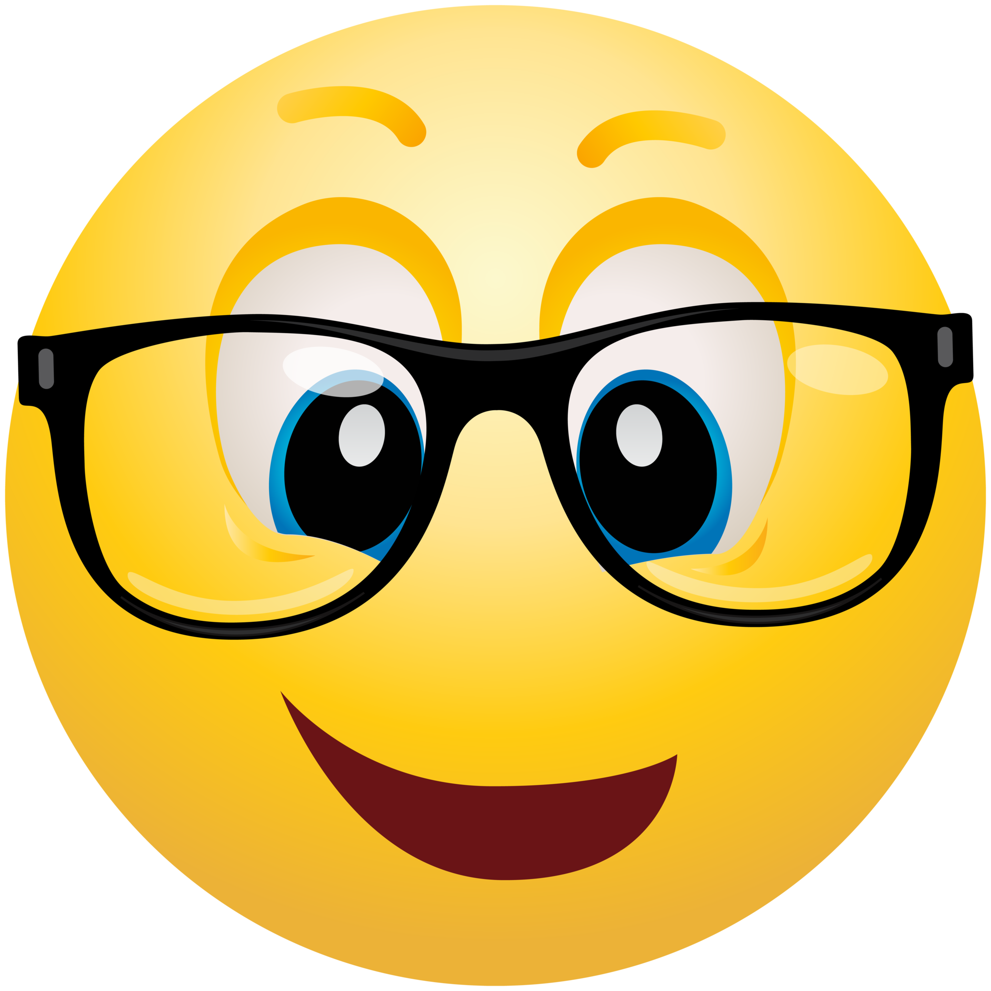 picture library stock Geek emoticon info . Emoji clipart