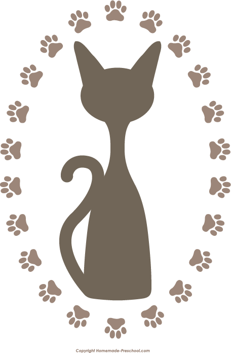 svg freeuse library Free Paw Prints Clipart