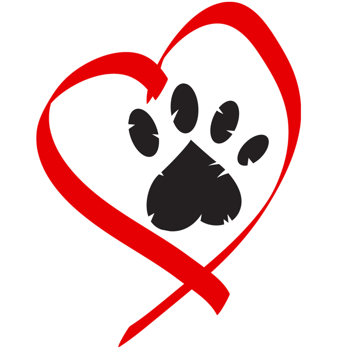 clip art freeuse library cat and dog love clipart #60678662