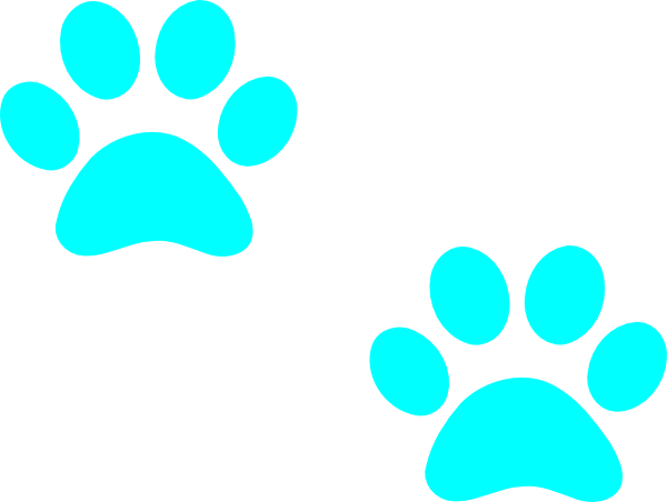 banner transparent stock Puppy Paws Clipart
