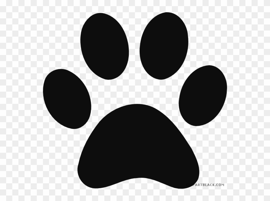 image transparent download Graphic free library grayscale. Vector paw