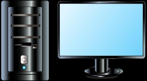 graphic transparent library Pc clipart. Desktop png clip art