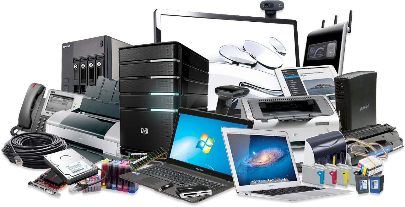 png black and white Pc clipart computer hardware servicing.