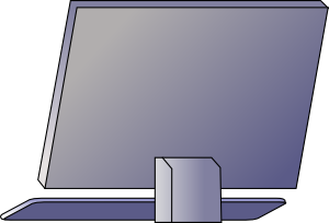 graphic download Computer clip art at. Pc vector