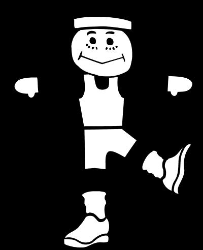 clip art library stock treadmill clipart black and white #85115510