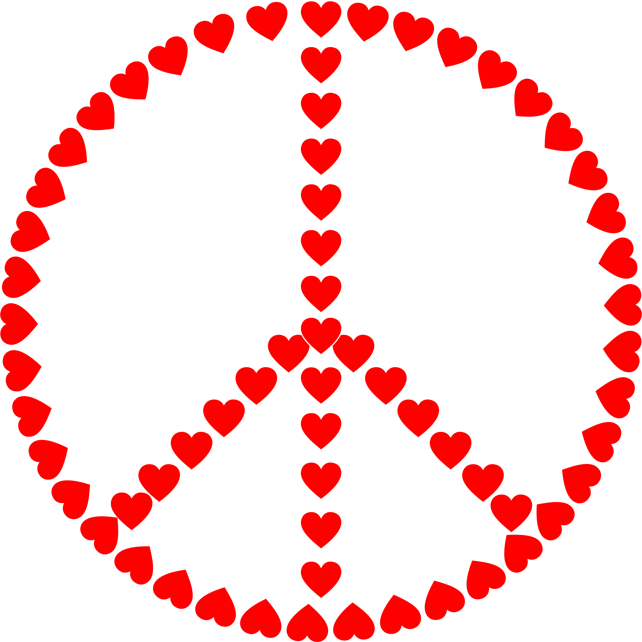 jpg royalty free Peace clipart. Sign love big image