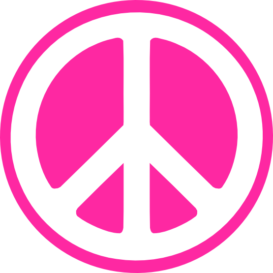 svg freeuse library Hippy Groovy Peace Sign svg